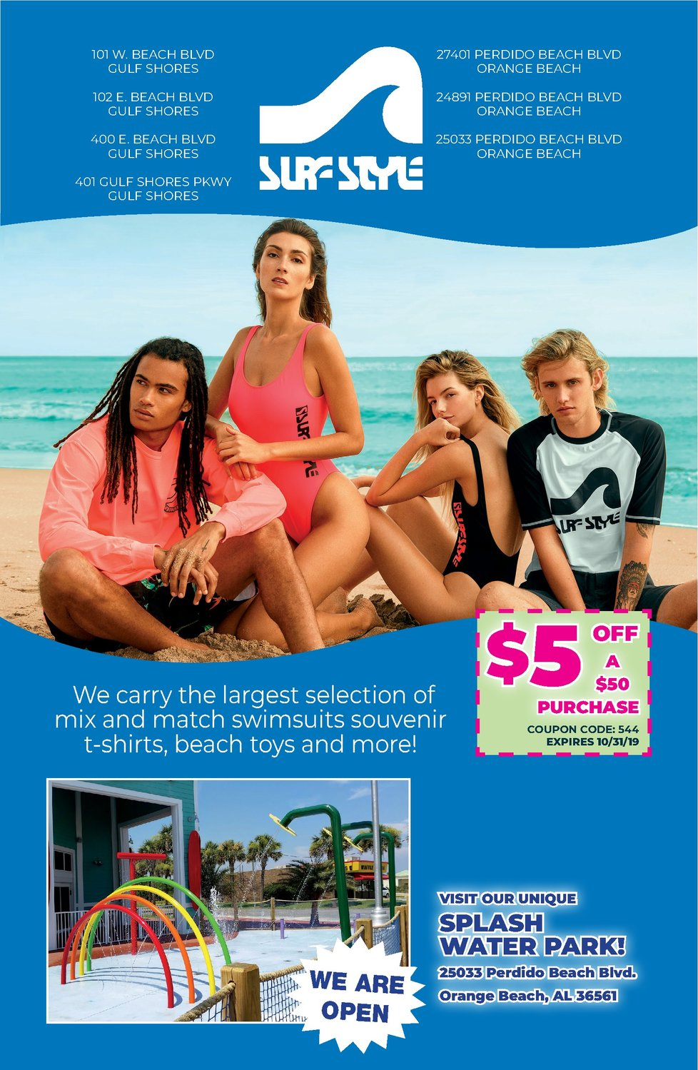 Active SURF STYLE Promo Codes & Deals for October 12222