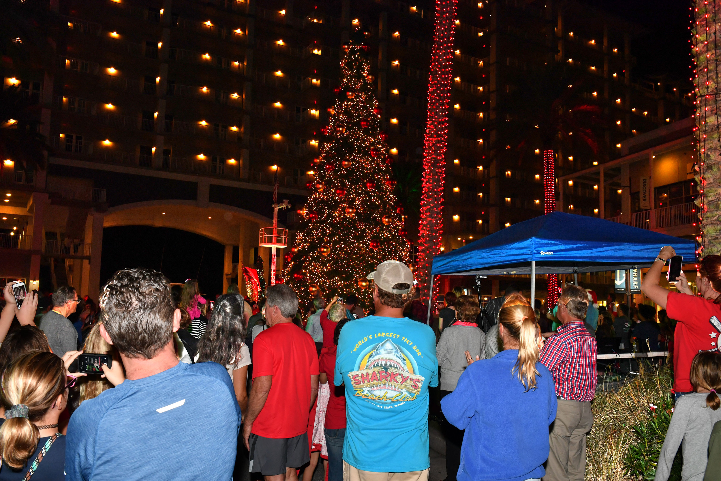 Scenes from the City of Orange Beach tree lighting at ... & City of Orange Beach Christmas Tree Lighting 2016 ... azcodes.com