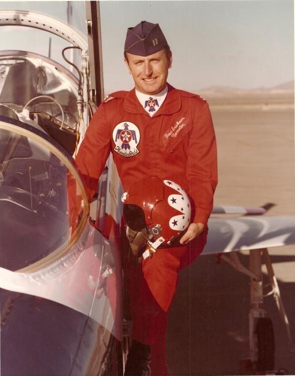 Fred Erickson Decorated Air Force Man Celebrates Veterans ...