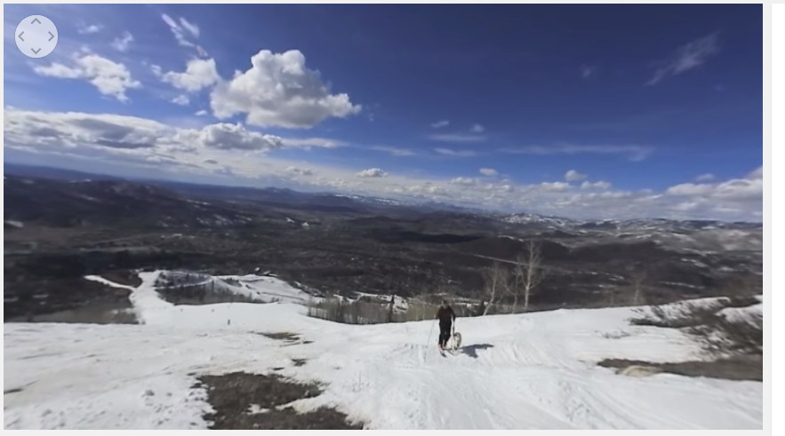 Among the 360 videos the Steamboat Pilot has recorded is a virtual run on the slopes of the Steamboat Ski Area.
