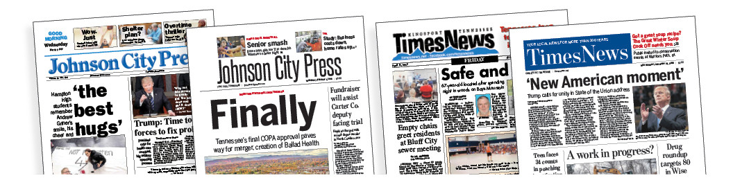 Creative Circle's print redesigns — like these upgrades launched late last year for Sandusky Newspaper Group in Tennessee — can energize your newsroom and your readership. Our secret to helping our clients isn't to produce more content, but to make sure the content they do create gets read.