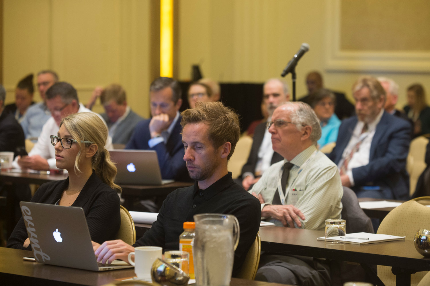 The annual meeting attracted an engaged audience that kept busy at every session taking notes on the ideas, strategies and practical tips exchanged from the podium.