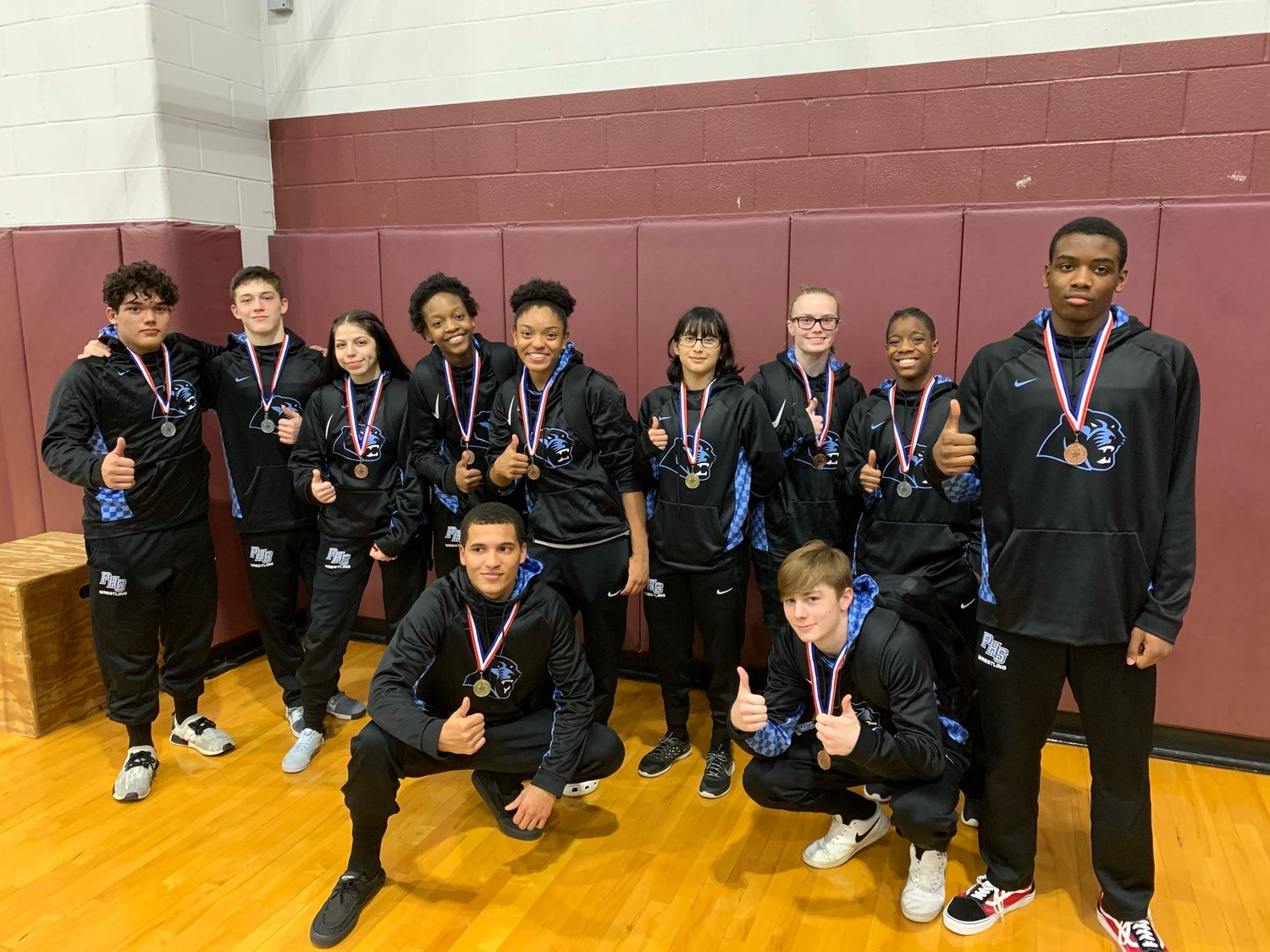 Paetow High qualified 11 wrestlers to the regional meet. The Panther girls placed third overall at the District 11-5A meet on Feb. 5. The Panther boys placed sixth overall.