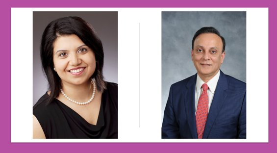 Doctors Guri Doshi (left) and Amirali Popatia (right) are both oncologists that serve the Katy Area and participate in research to improve the outcomes for cancer patients. Recent analysis of mortality rates in cancer patients show significant declines as tobacco use decreases and medical technology and methodology improves.