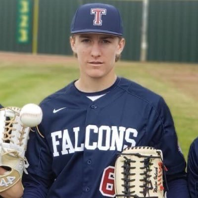 Tompkins senior Weston Valasek is a versatile outfielder and infielder for the Falcons. He has made an impact ever since he stepped onto the field as a varsity player as a sophomore.