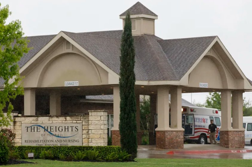 The Tomball nursing home near Houston is where an elderly man lived briefly before dying on March 18 of COVID-19, the disease caused by the new coronavirus.