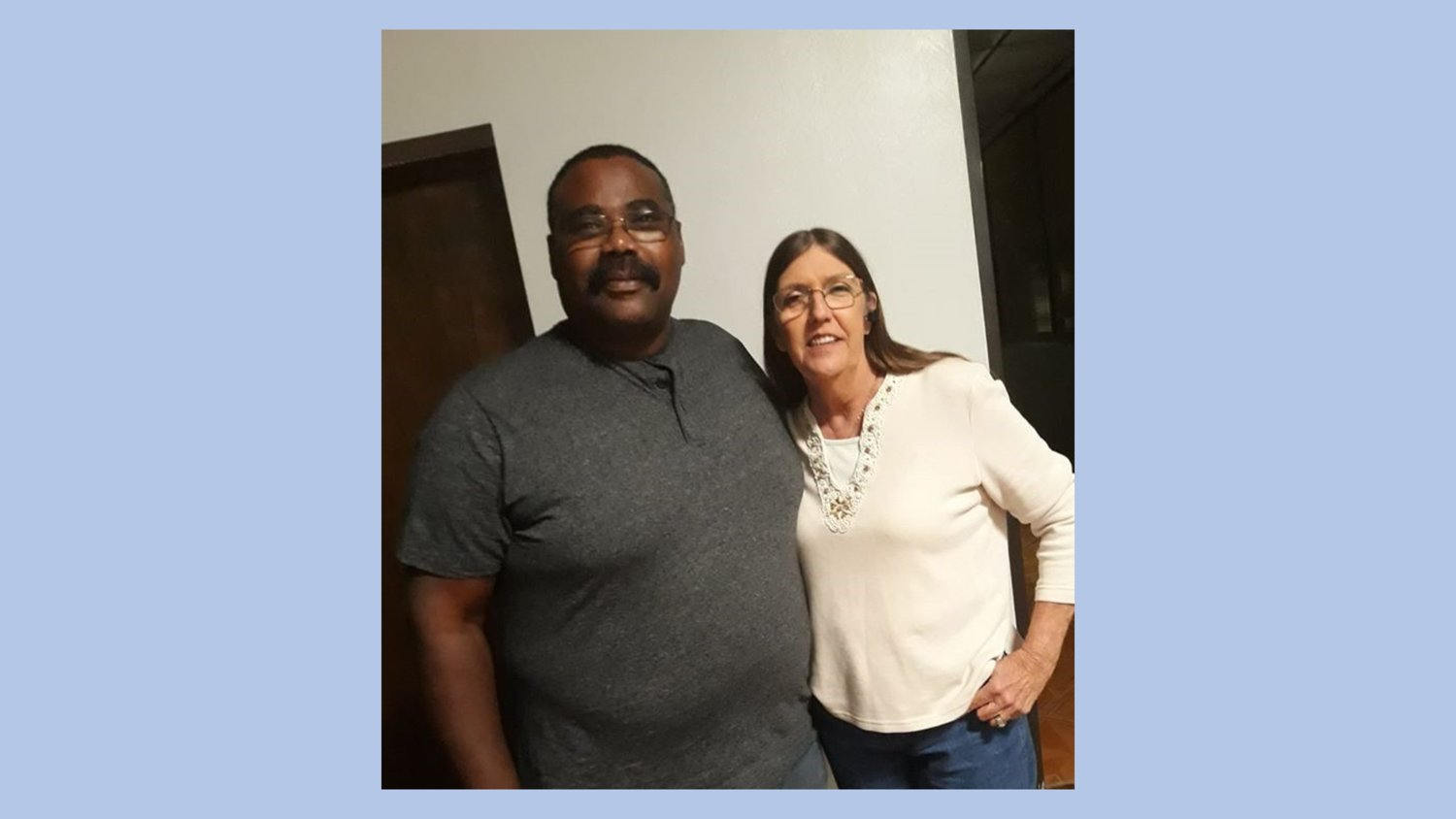Alderwoman Kim Branch (right) and her husband, Mayor Darrell Branch (left) pose for a photo. The alderwoman serves in the Brookshire City Council's Seat 3 position and her husband was elected mayor in 2019.