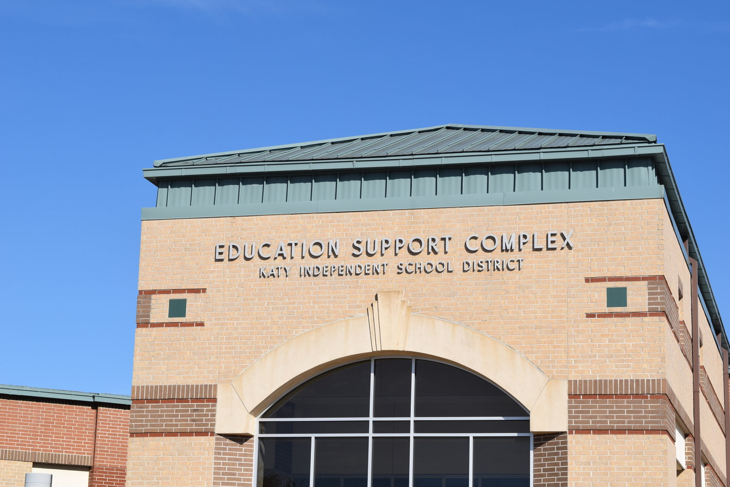 The Katy ISD Board of Trustees met virtually Tuesday evening due to the COVID-19 pandemic rather than at the Education Support Complex pictured above, which is their usual meeting place.