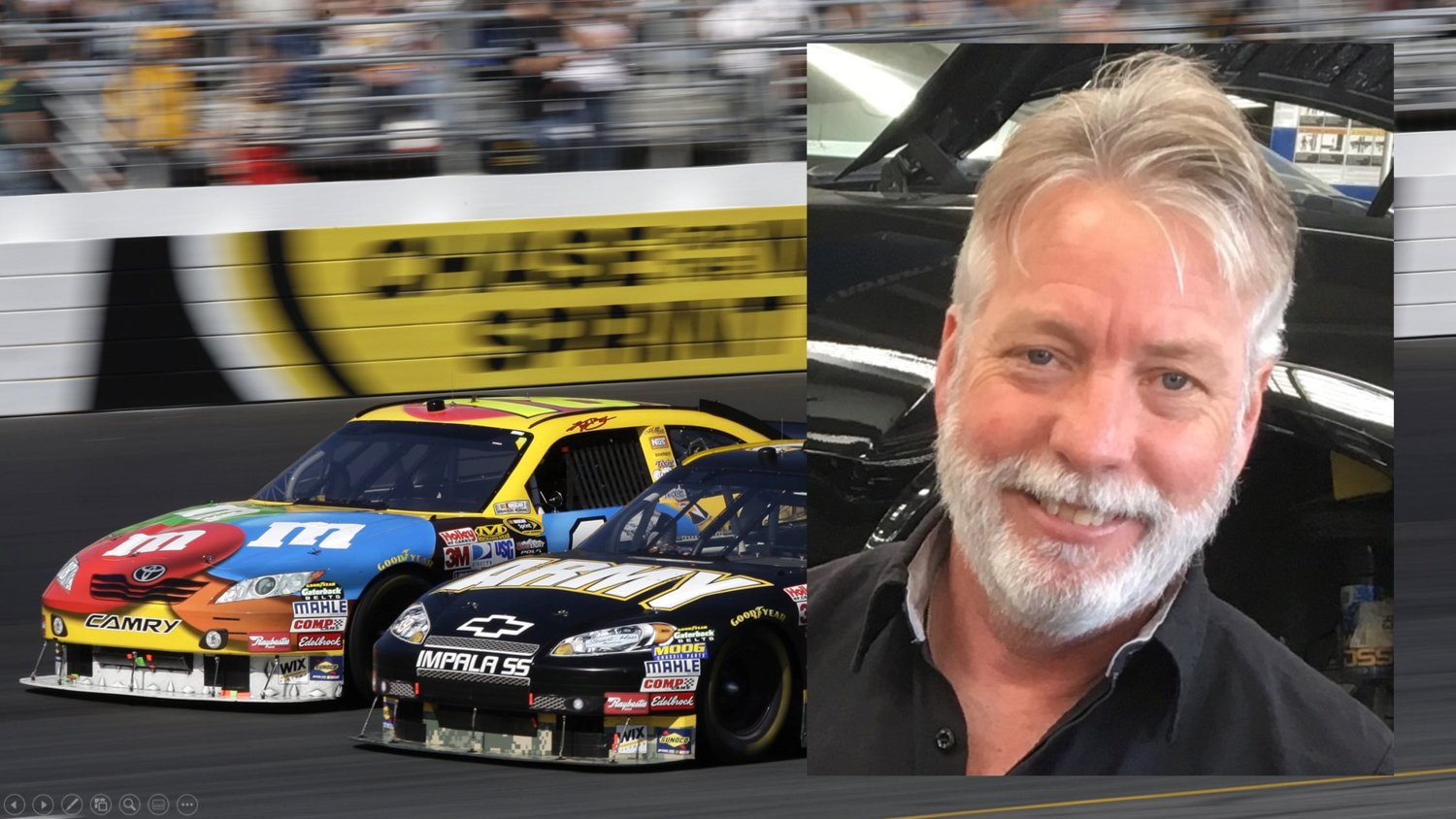 Dennis was a lover of cars and racing and will be greatly missed by his loved ones.
