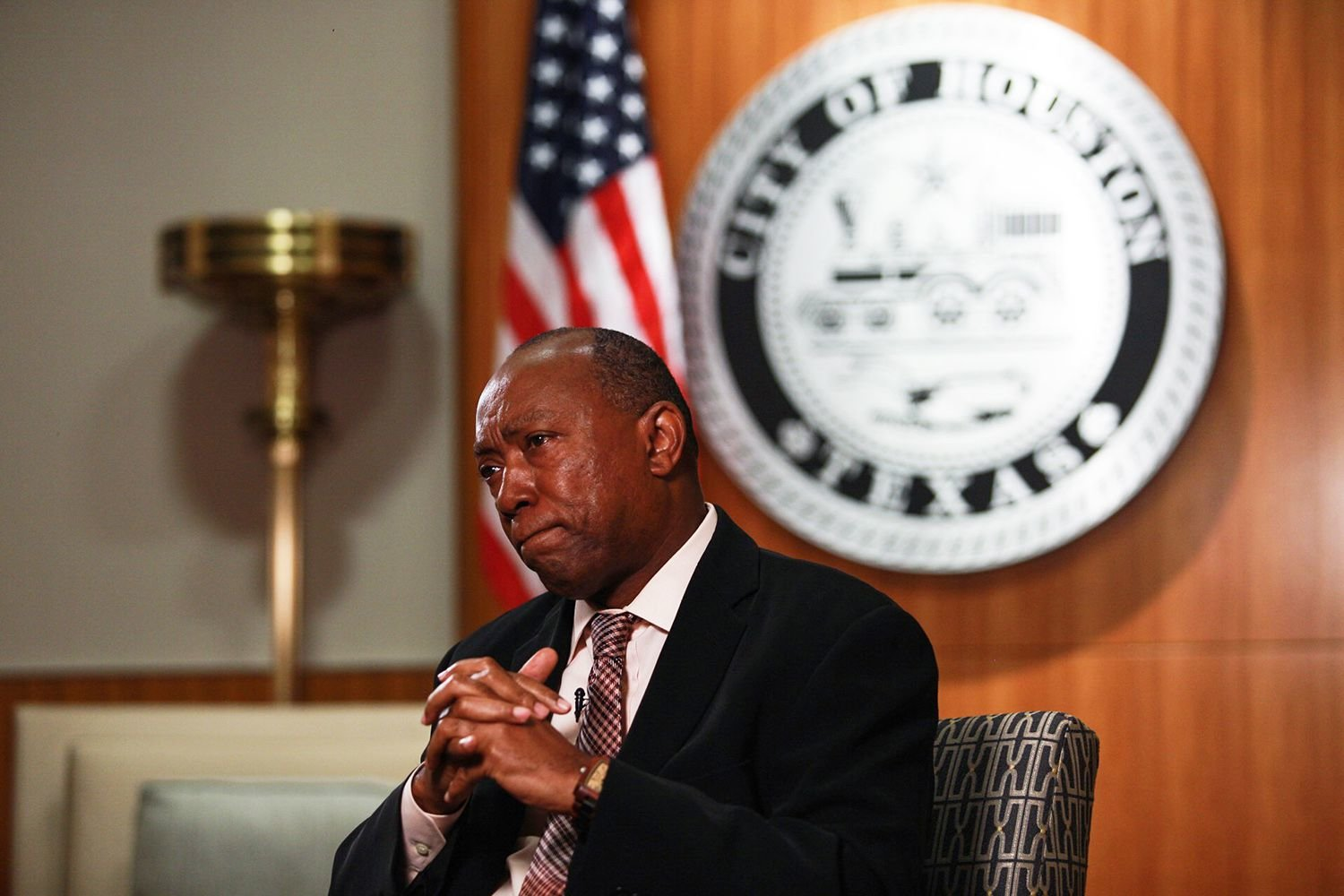 Houston Mayor Sylvester Turner on Wednesday directed city staff to find a legal way to cancel the Republican Party of Texas' in-person convention in the city next week.