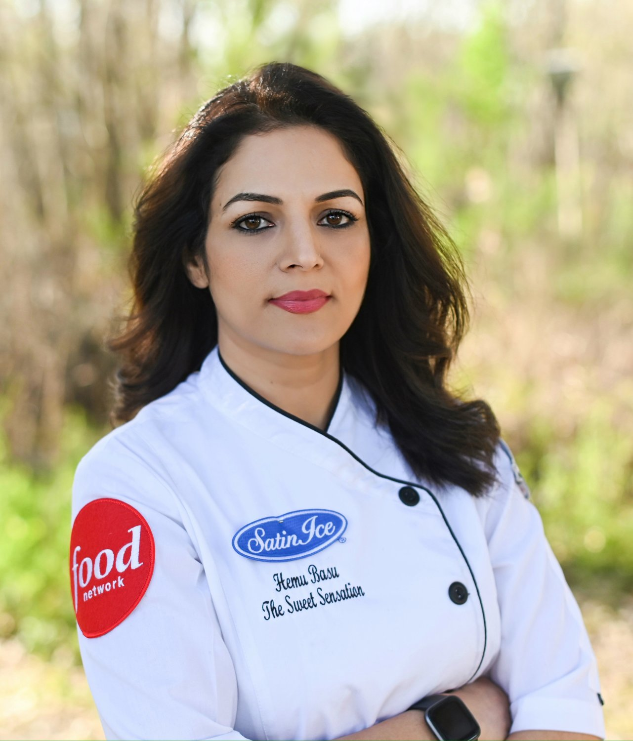 "Basu has appeared on multiple Food Network series now and received recognition as a rising star by the American Cake Awards recently. She is also slated to be a judge on the FoodyTV show, ""The Masked Baker."""