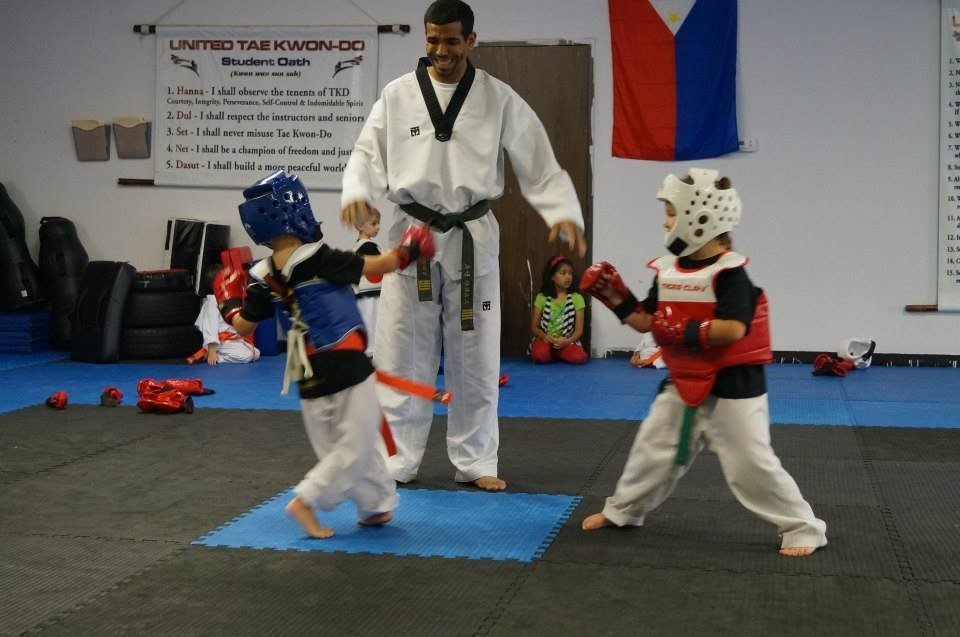 While Santarose has competed internationally, he said his favorite part of his job is working with young students in his dojang.