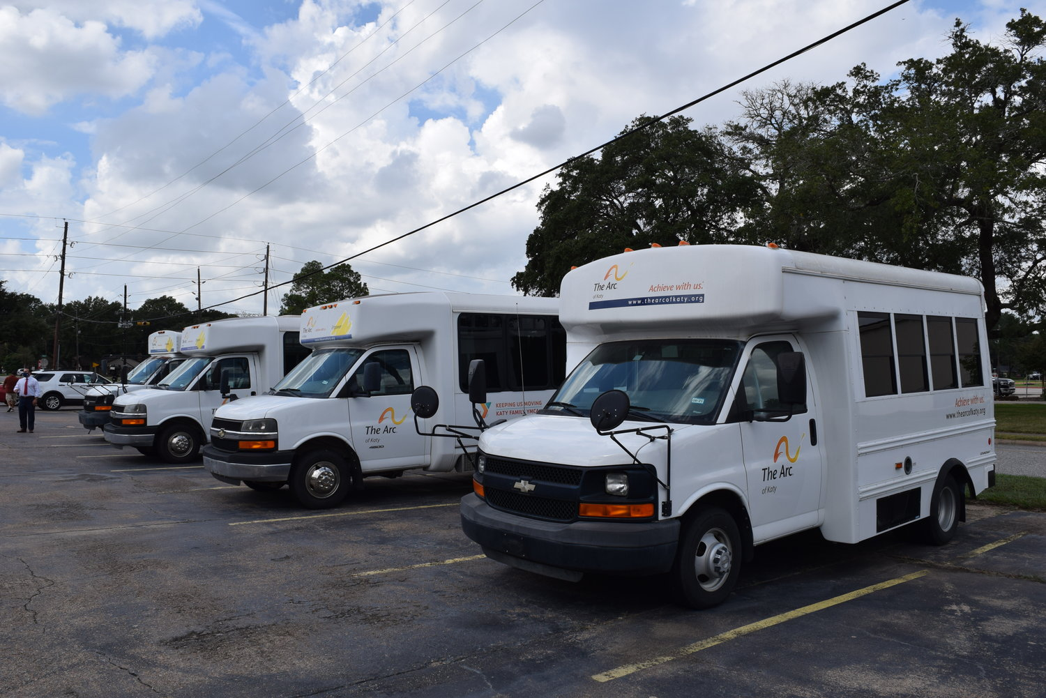 The Arc of Katy was struck by vandals the weekend of Oct. 17 resulting in the four buses they use to support programs for individuals with intellectual and developmental disabilities had the catalytic converters cut out. The total cost for the repairs was unknown prior to press time.