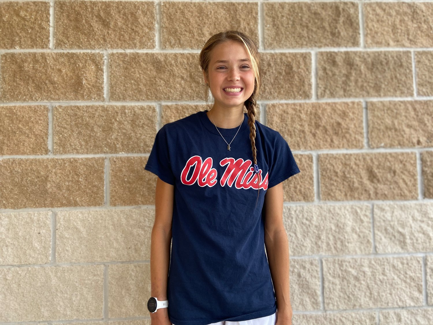 Tompkins senior Addison Stevenson has verbally committed to run cross country and track and field at Ole Miss.