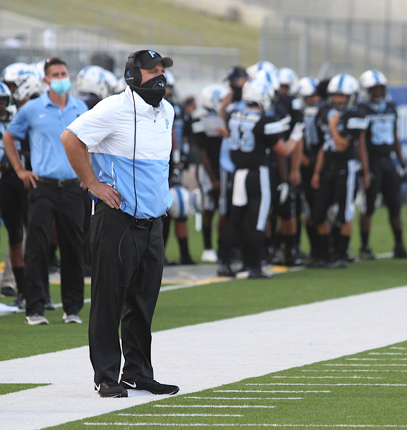Paetow coach B.J. Gotte and the Panthers suffered just their first loss of the season with a 28-10 setback to No. 5 state-ranked Richmond Foster on Saturday at Legacy Stadium and now stands 5-1. However, because of the loss to Foster, the Panthers will play Angleton next Saturday at 1 p.m. at Angleton in a playoff play-in game.