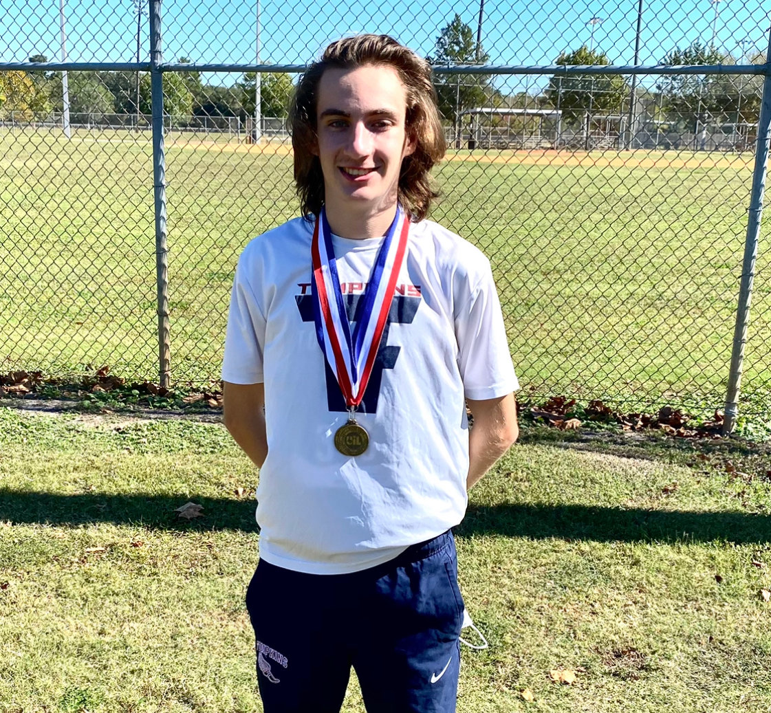 Tompkins senior Gavin Saacke has helped sustain a legacy in the sport established by past Falcon greats like Daniel Figueroa and Cole Lindhorst.