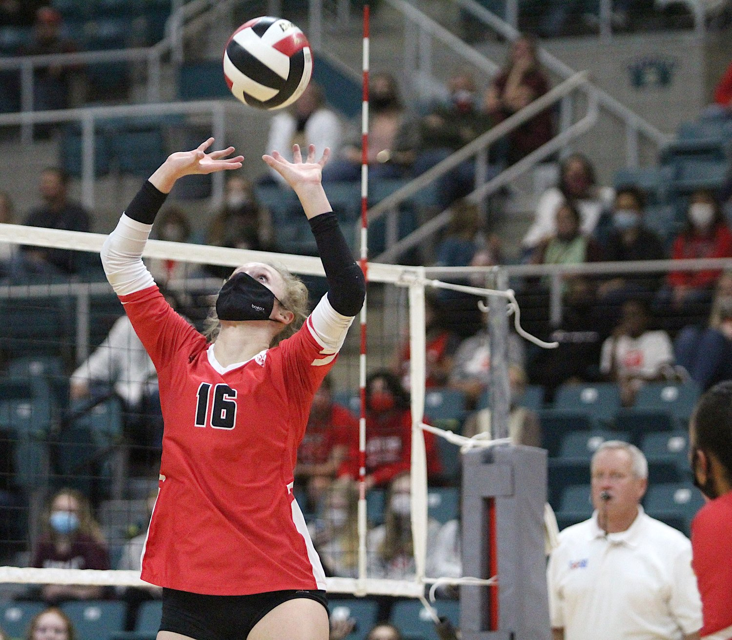 Katy High junior Maddie Waak was named District 19-6A's Outstanding Setter this season.