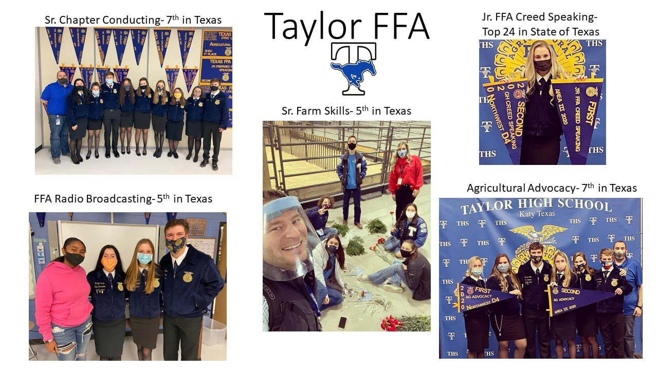 Taylor High School state FFA contest.
