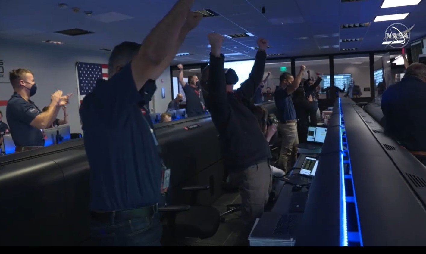 While power outages and water were a concern in Katy, many area space enthusiasts had a moment of celebration as NASA landed the Mars perseverance Rover on the red planet at about 3 p.m. the afternoon of Feb. 18.