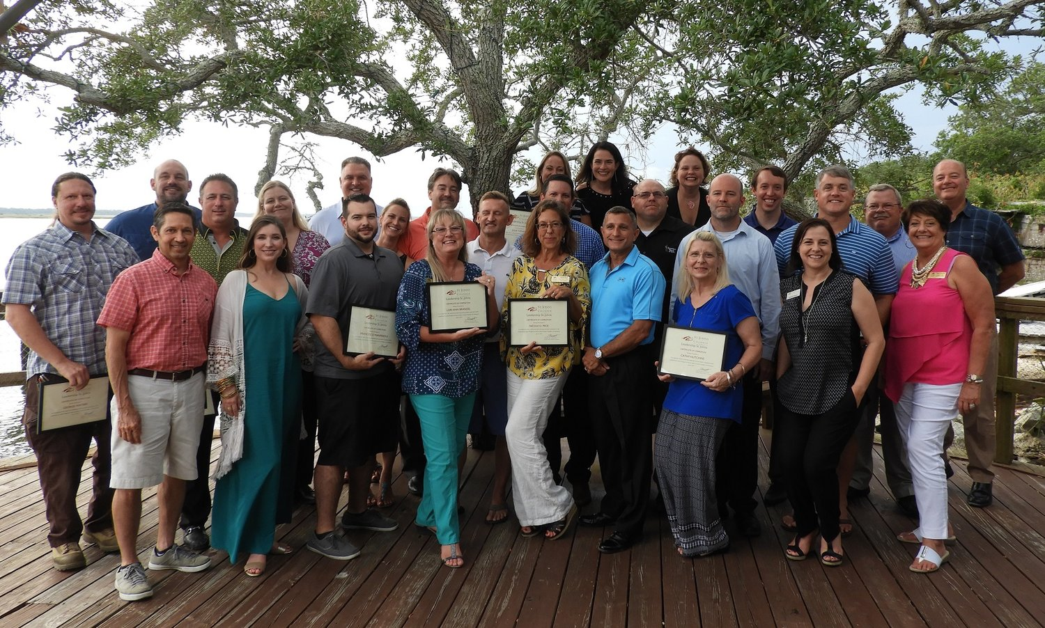 Chamber's Leadership St  Johns Class completes program | The Ponte