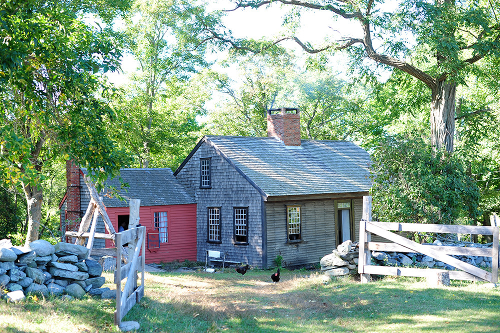 Early American Traditions At Coggeshall Farm In Bristol