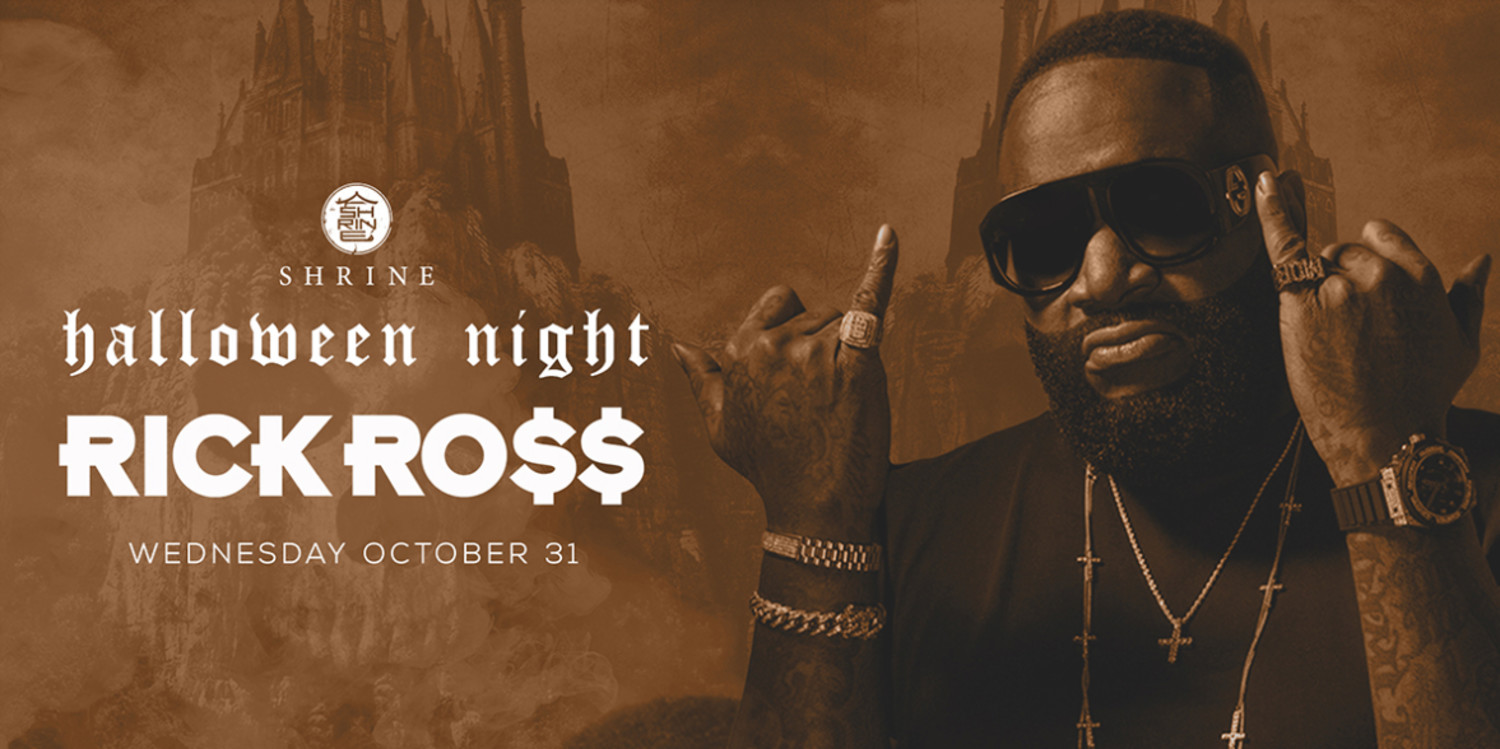 3c32aee5c49 Rick Ross  Halloween Night at Foxwoods Resort Casino