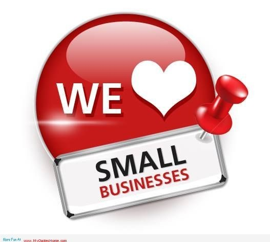 We love small business