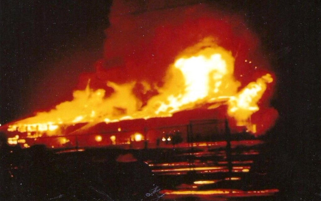 The Alhambra Ballroom is destroyed in a September 3rd, 1969 fire. It was never rebuilt.