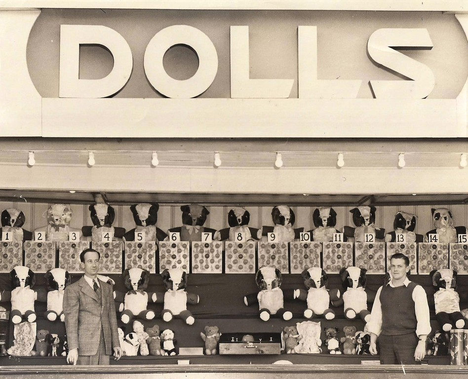 Did you ever win a doll on the midway.