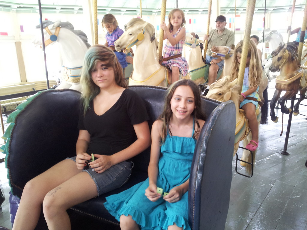 Carousel chariot ride 2013.