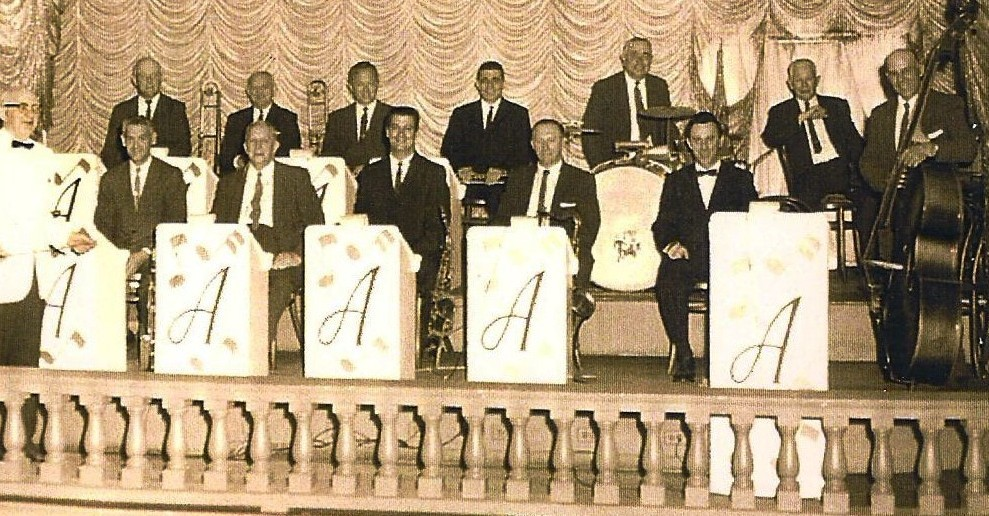 The Alhambra Ballroom Band with director Charles Weygand.