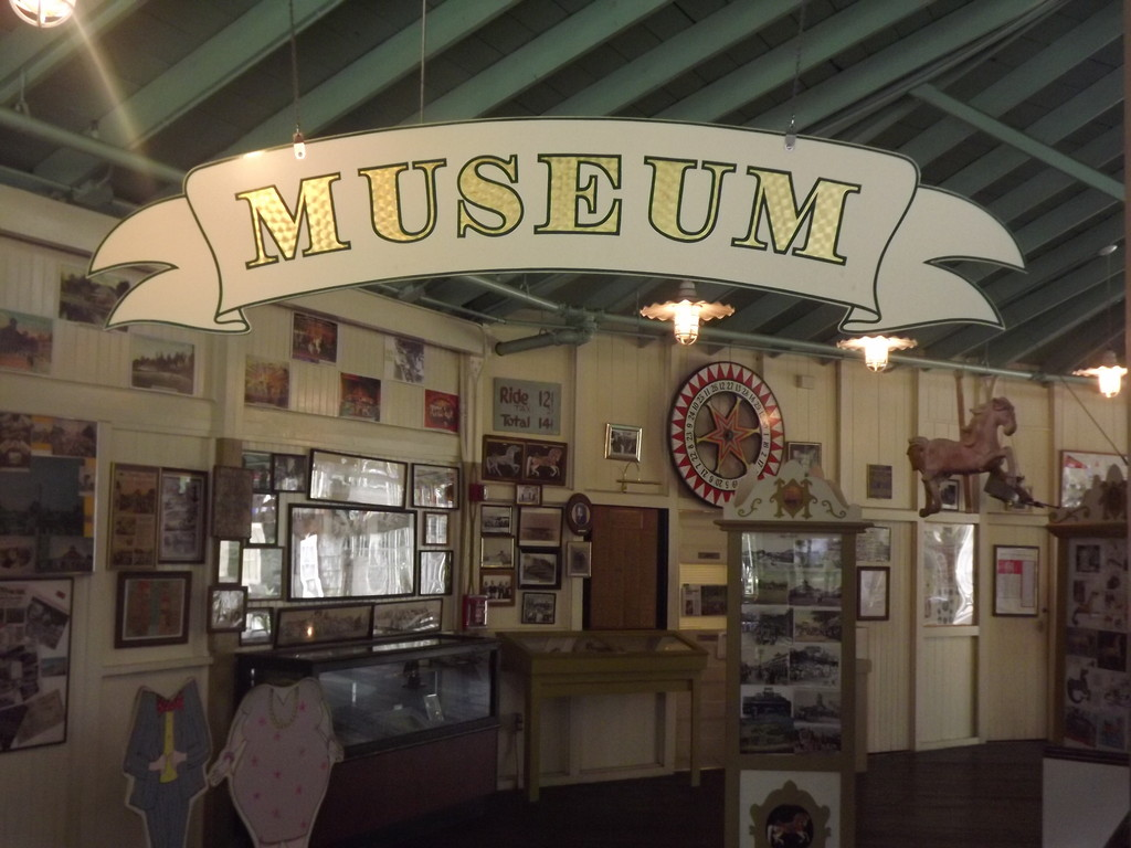 The current Museum inside the Carousel