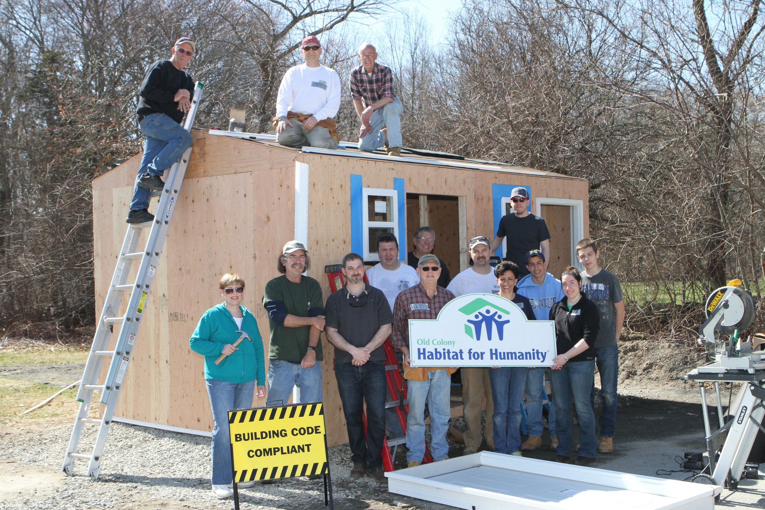 Habitat For Humanity Builds