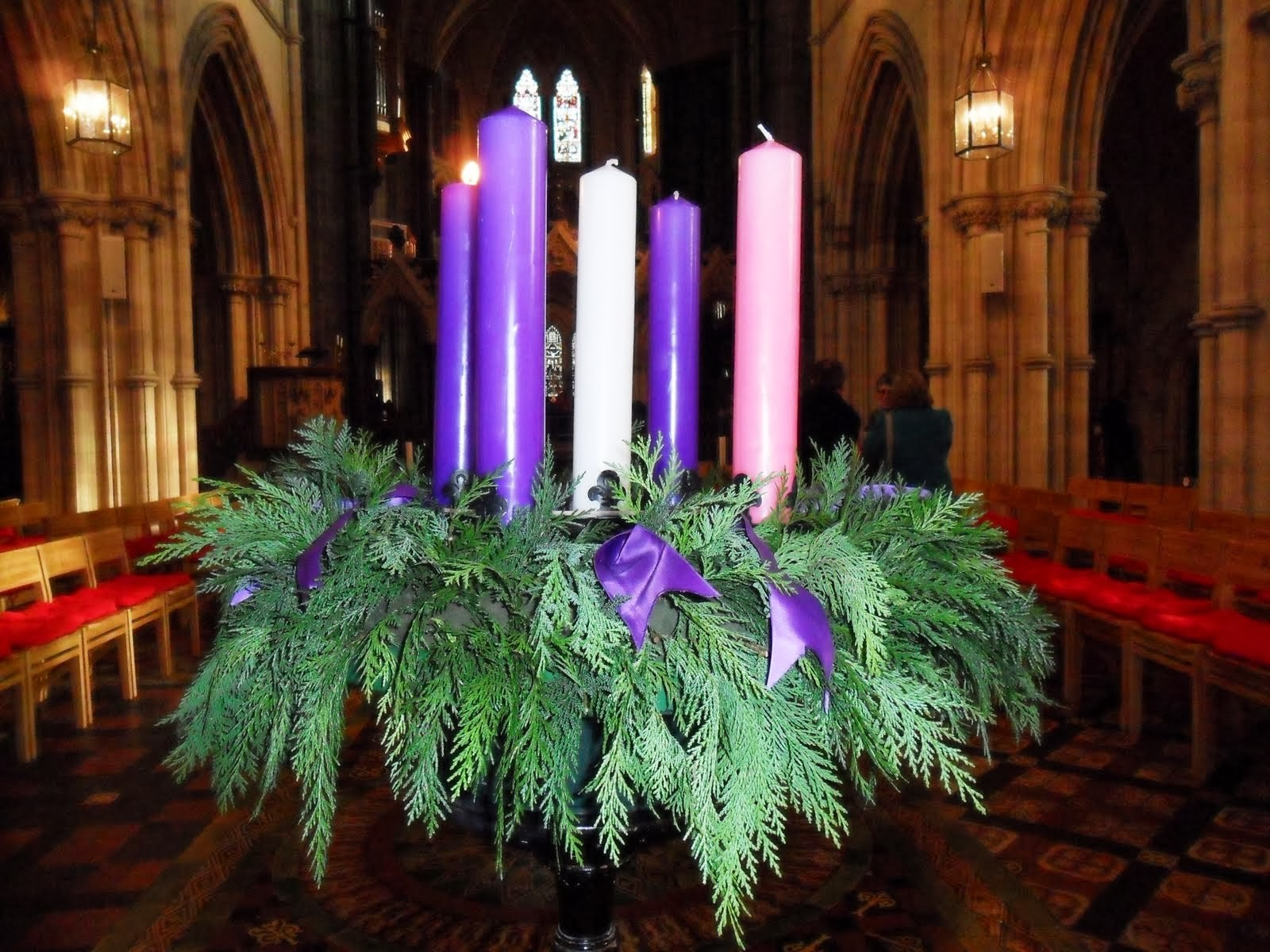 What do the candles in our advent wreath mean reporter today biocorpaavc