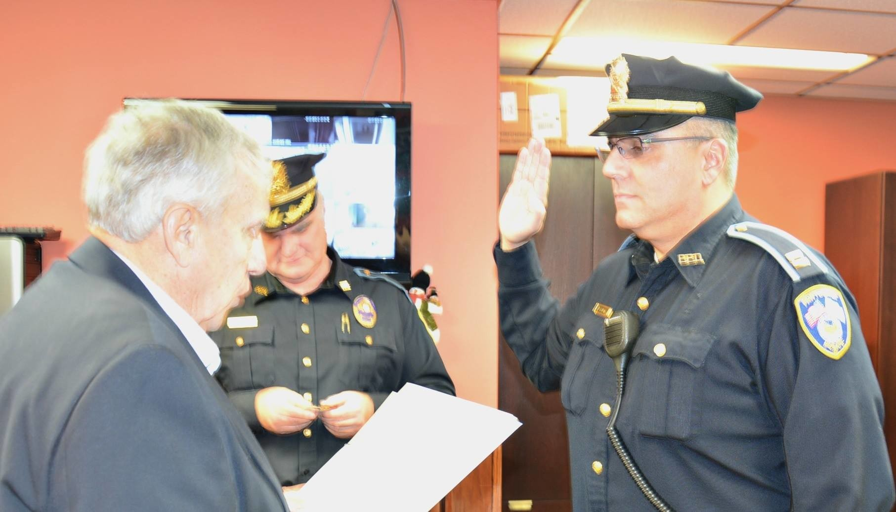 EP Resident Bob DaSilva Promoted to Pawtucket Police Captain