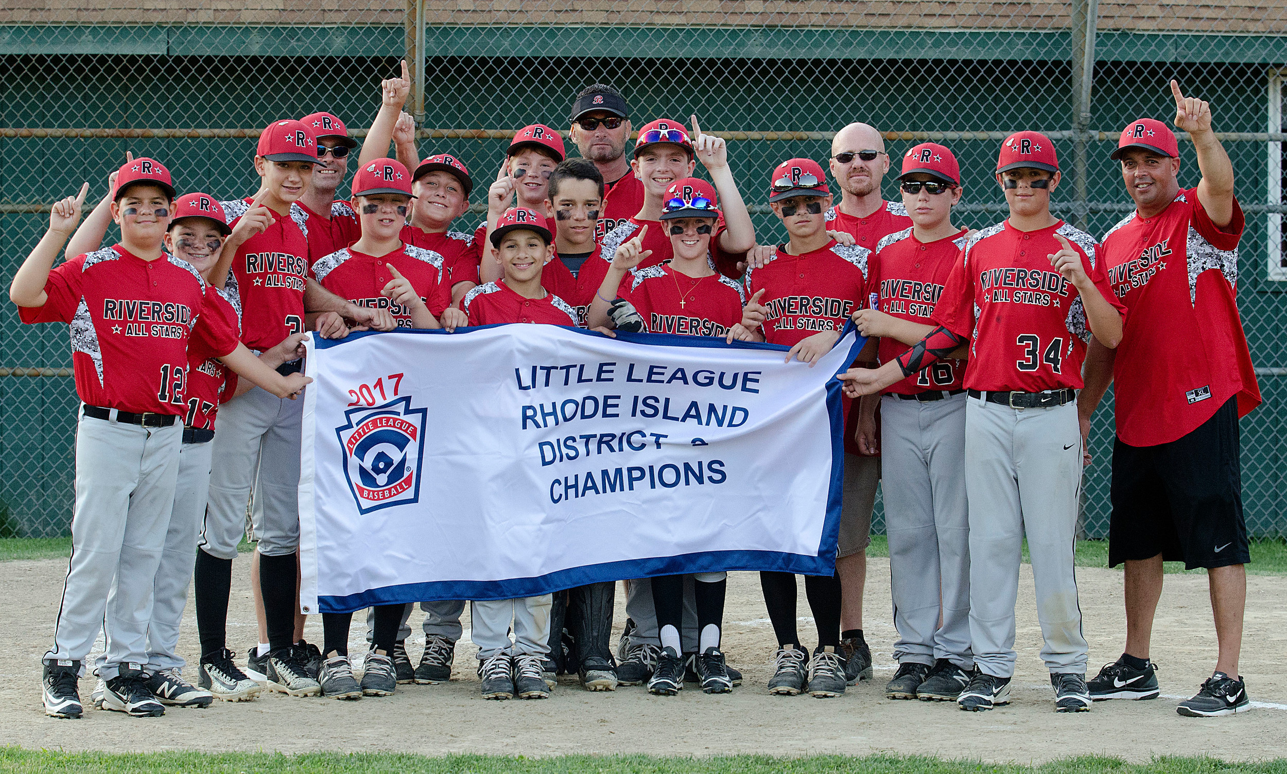 Riverside Boys Majors All-Stars win Division Two Championship