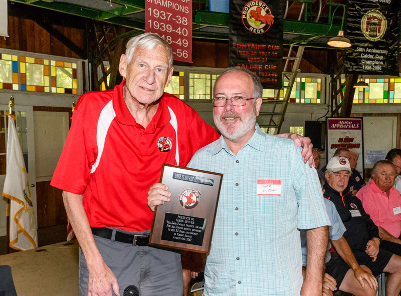"Seekonk's Mark Divver Receives ""Sage Family Public Service"" Award Presented by the RI Reds Heritage Society"