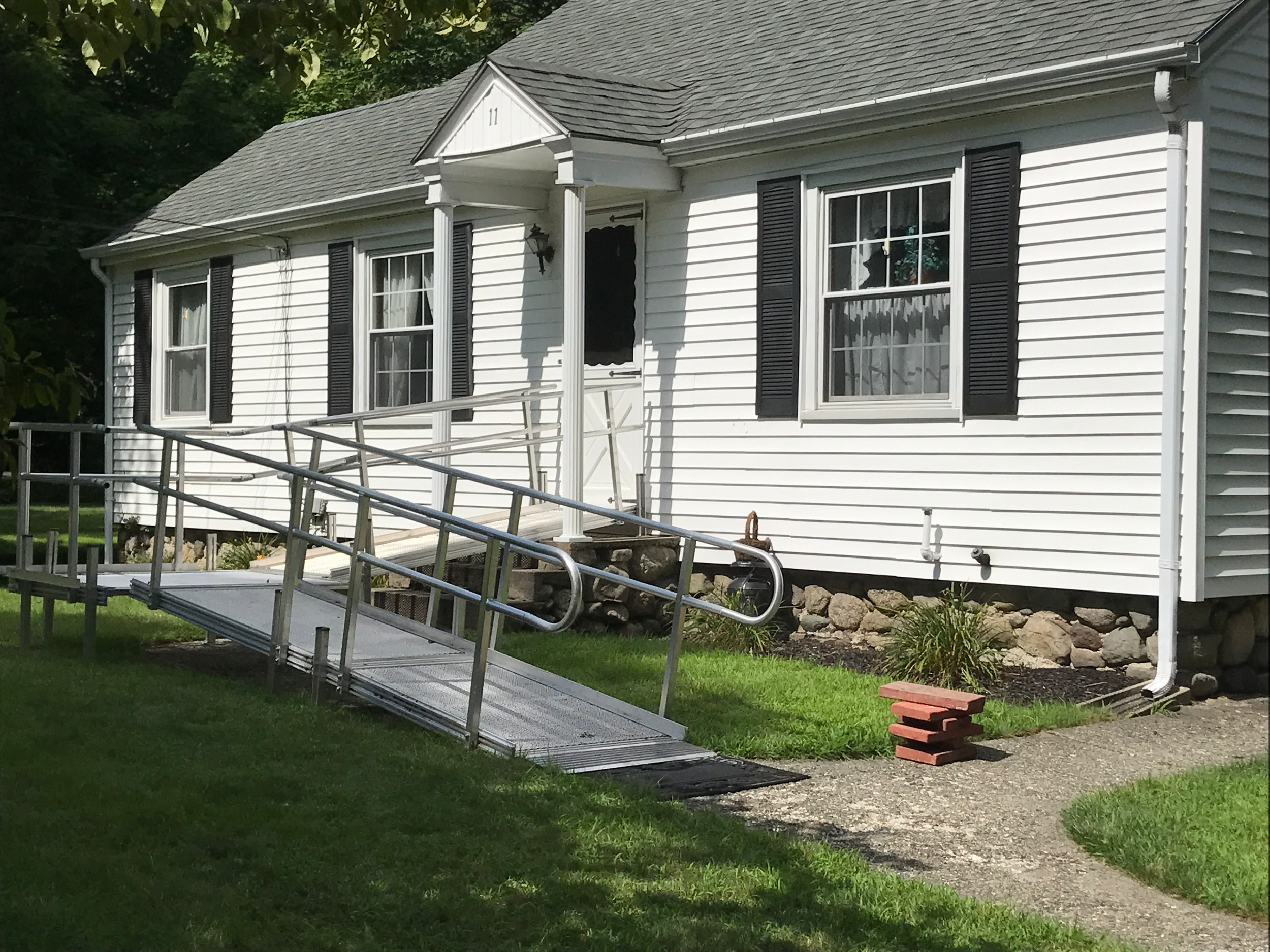 Rehoboth Veterans Officer comes through with a ramp for a Veterans home