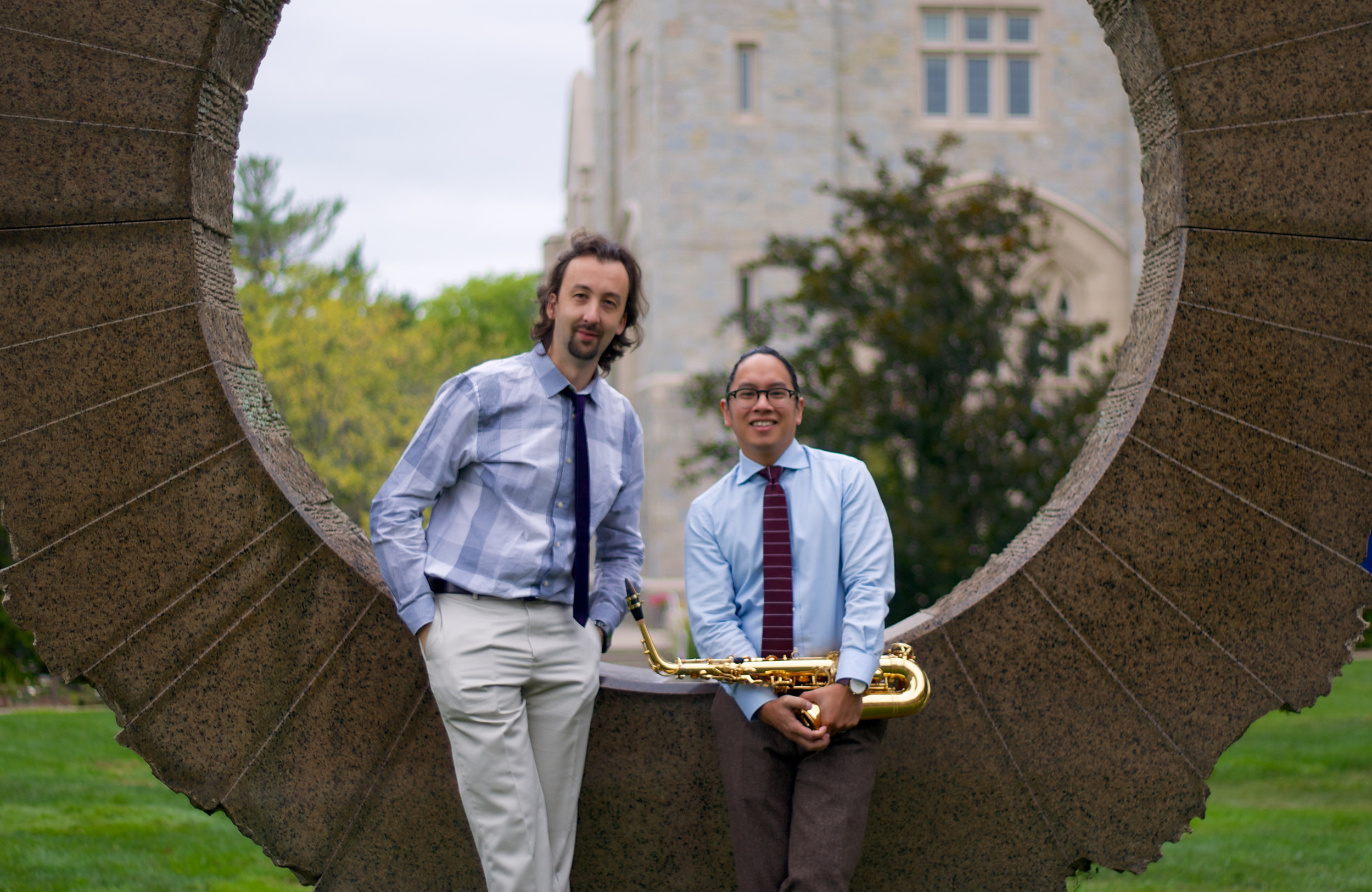 The Prometheus Duo performs in the Arts in the Village Concert Series on October 7