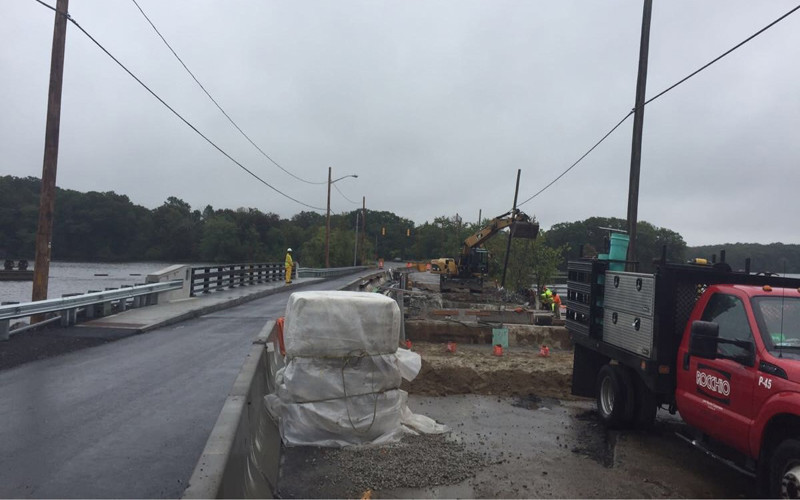 Newman Avenue Bridge work underway