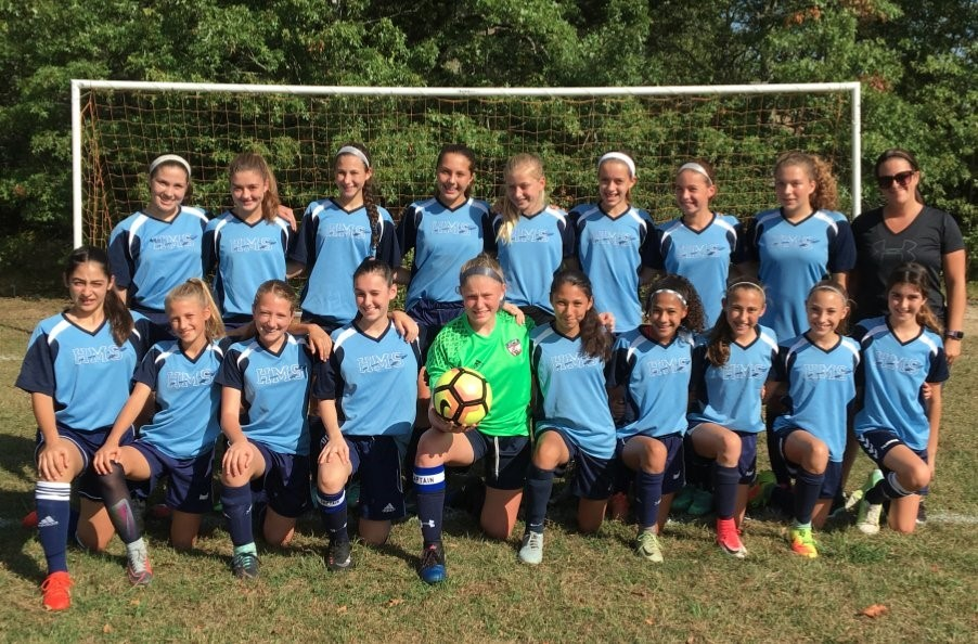 Hurley Middle School Girls Soccer Conference Champs