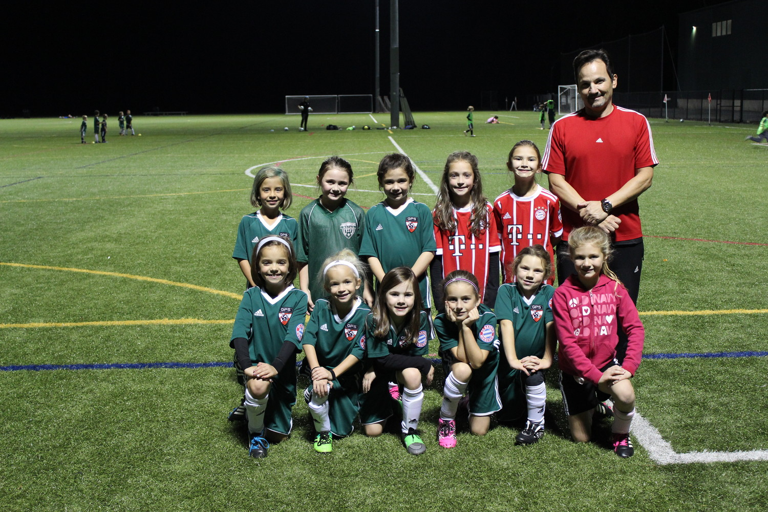 Front left to right: Sophia Dubois, Dahlia Cryan, Bailey D'Alessio, Jordyn Smith, Sadie Piasecki, Hannah Lewin