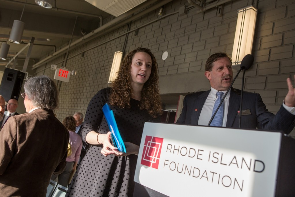 Officials from the Rhode Island Foundation announce the organization is offering $600,000 in grants to launch projects with the potential to improve life in the state. East Providence residents have until Dec. 19 to apply.