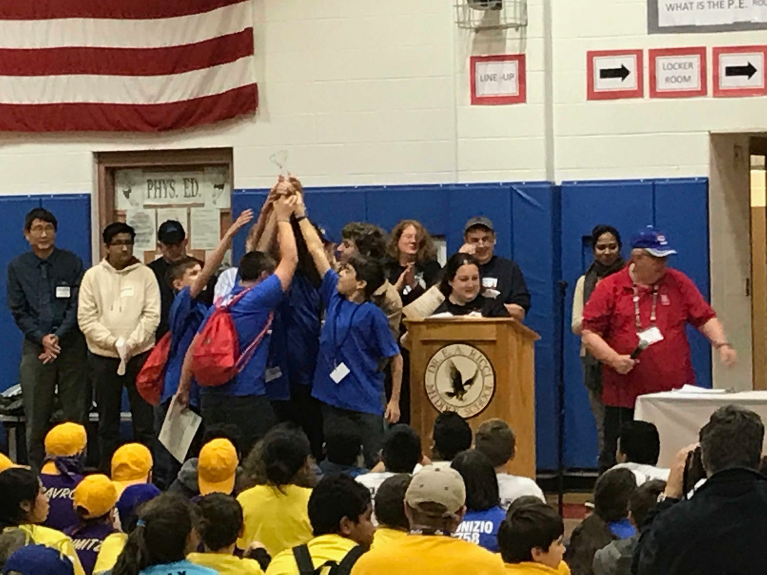Beckwith Robotics Teams win First and Second Place Awards