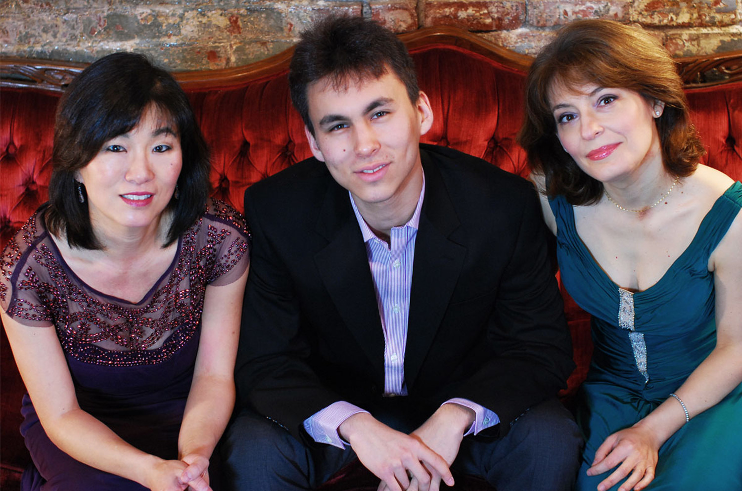 The Boston Trio performs in the Arts in the Village Concert Series on February 24. Photo: Becca Lewis