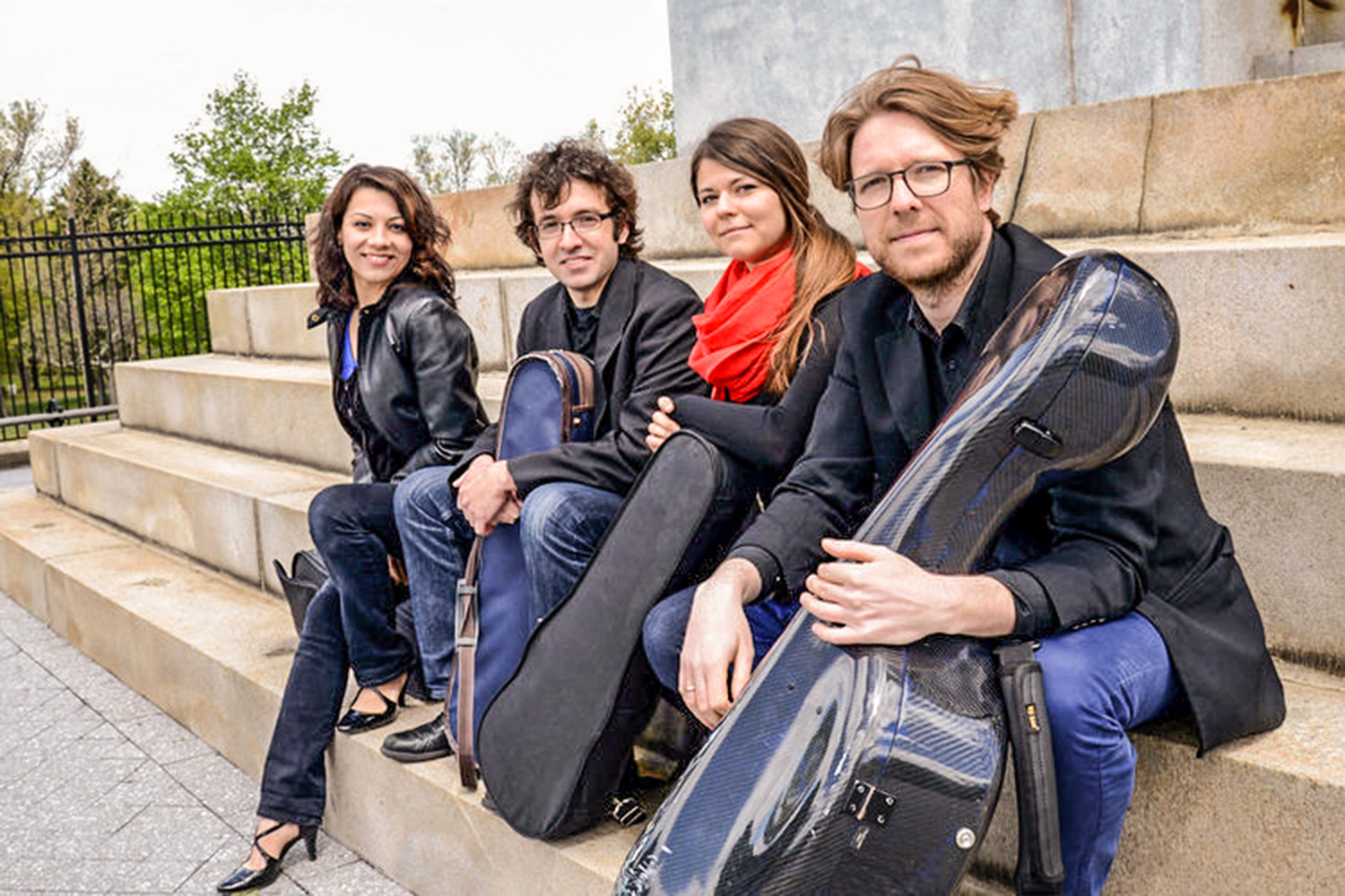 The Haven String Quartet performs in the Arts in the Village Concert Series on Saturday, April 28.