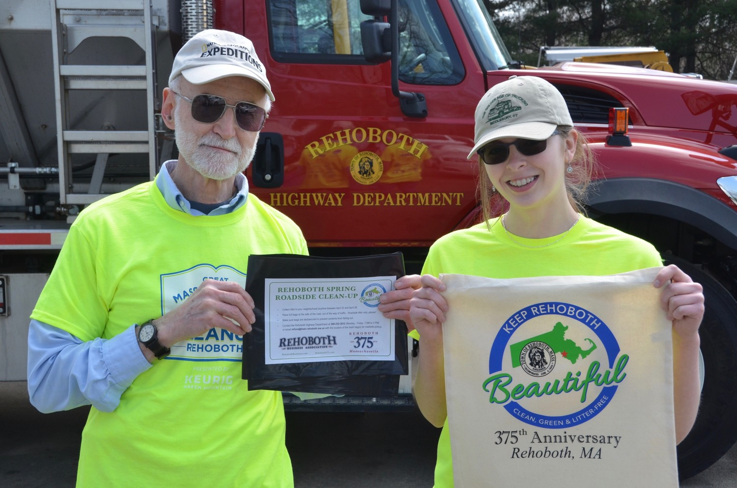 Abby Abrahamson – Chairperson – Keep Rehoboth Beautiful Subcommittee Ron Whittemore – Member – Keep Rehoboth Beautiful Subcommittee