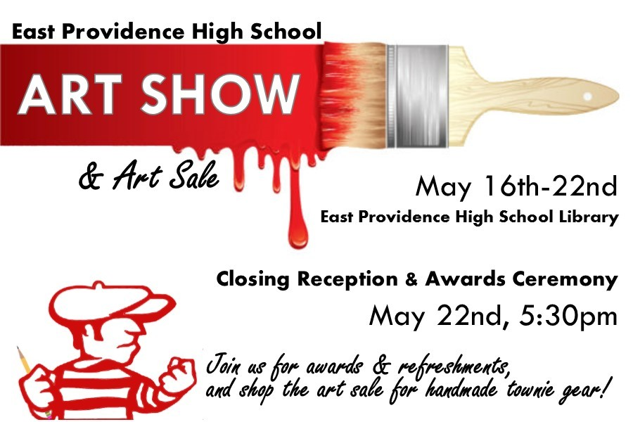 Winning Art Work on Display at May 24th Music Concert at School