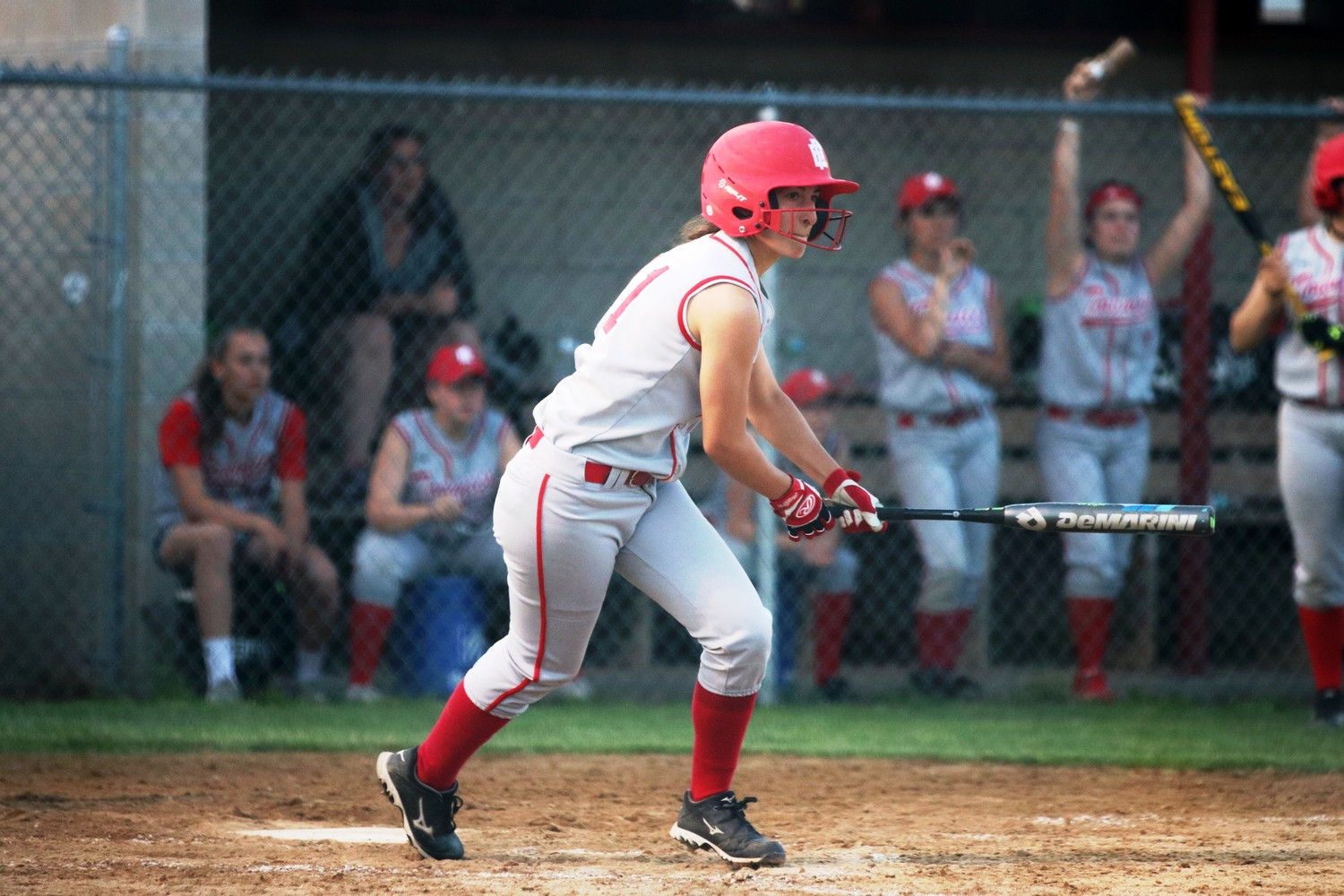 Sadie Patterson of EP gets a hit