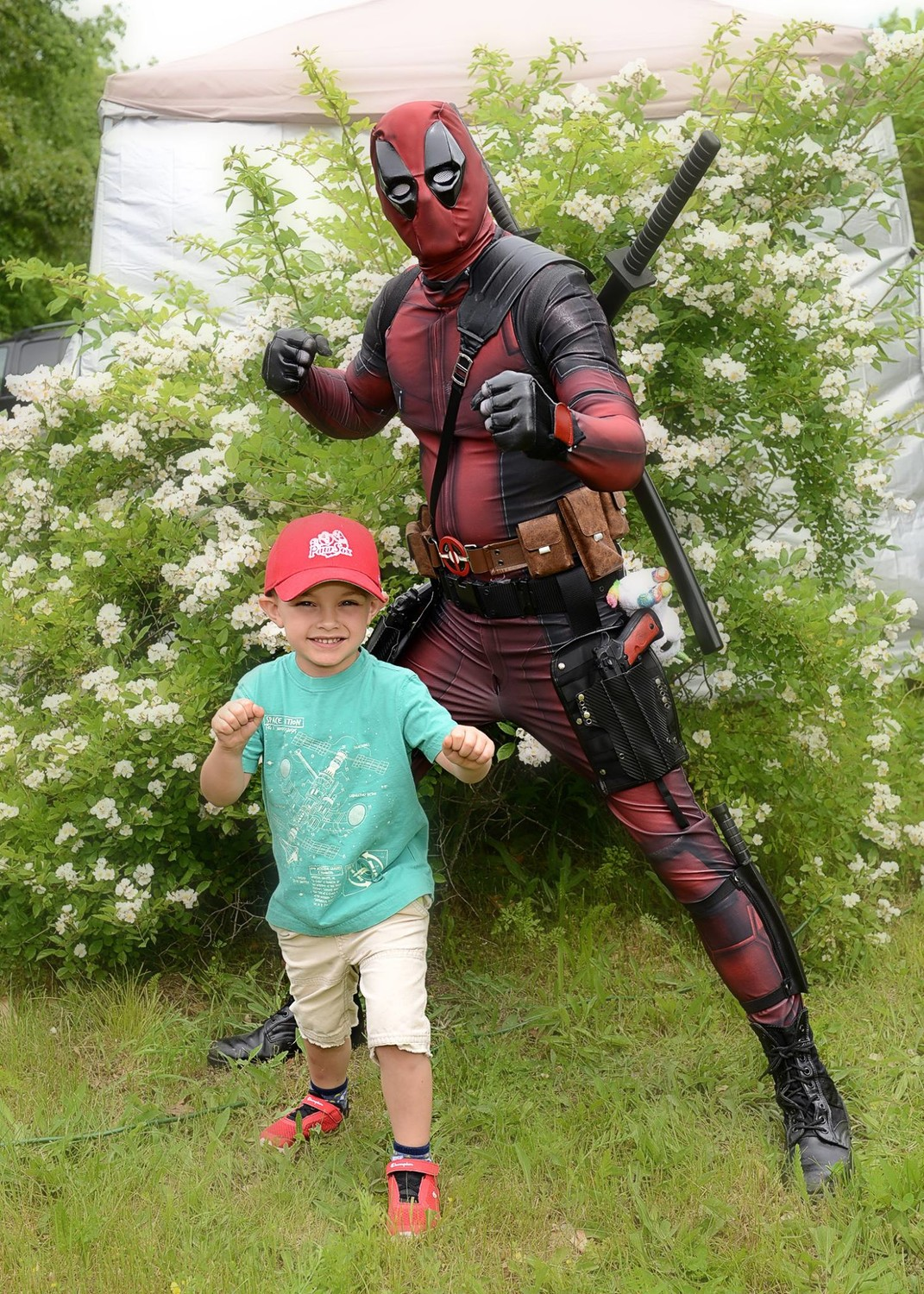 Deadpool and Mason